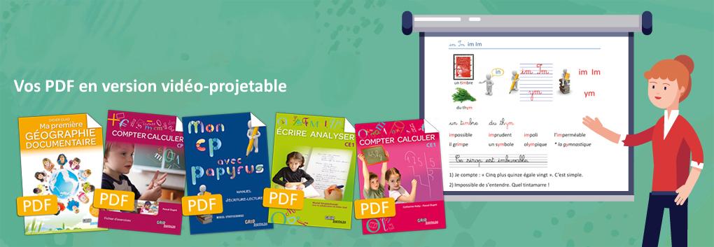 pdf vidéo-projetable