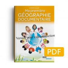 Matière : CP. Titre : Ma première géographie  version projection