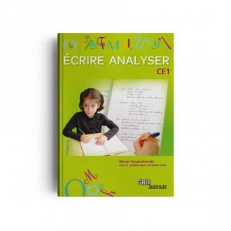 Titre : Écrire Analyser CE1