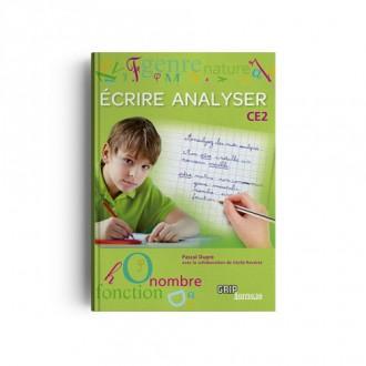Titre : Écrire Analyser CE2