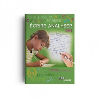 Ecrire Analyser Cm1 Grip Editions