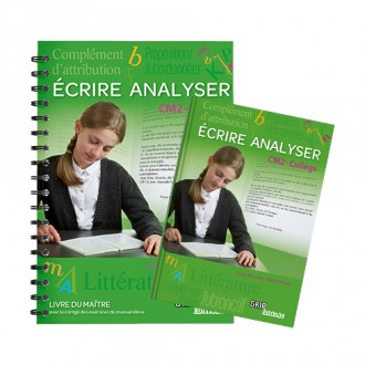 Titre : Offre Ecrire Analyser CM2 Collège