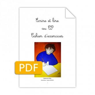 Titre : Écrire et lire au CP – Fichier exercices