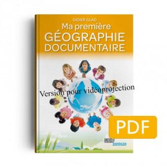Titre : Ma première géographie  version projection